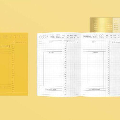 MYO A6 Study Planner
