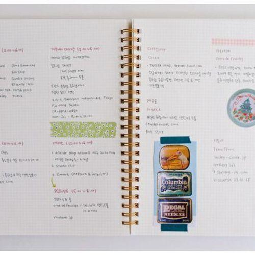 Simple Grid Notebook