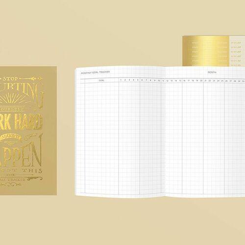 MYO A6 Goal Tracking Notebook