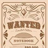 MYO A6 Goal Tracking Notebook, Wanted (Grid)