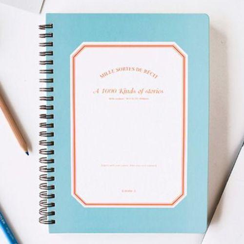 1000 Plans Notebook