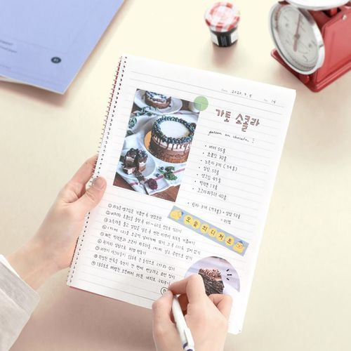 Pieces of Moment Spiral Lined Notebook