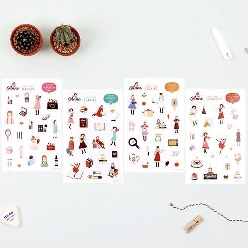 Anne Deco Sticker