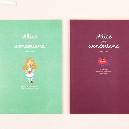 Large World Literature Lined Notebook