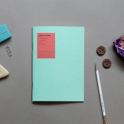 Simple Checklist Notebook