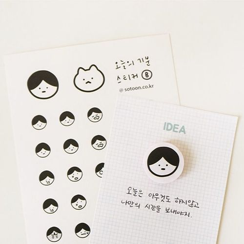 Today's Mood Sticker Set