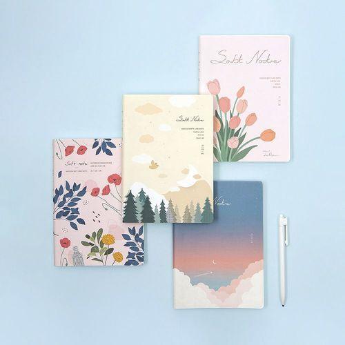 Medium Ardium Soft Lined Notebook