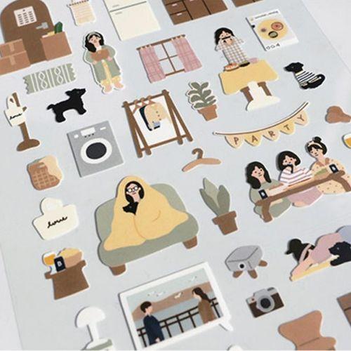 Home Vlog Deco Sticker