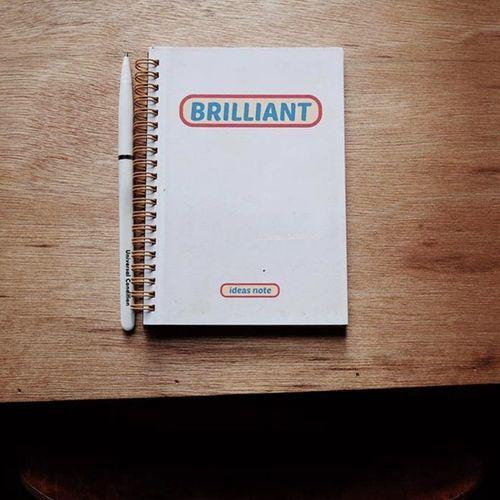 Brilliant Idea Notebook