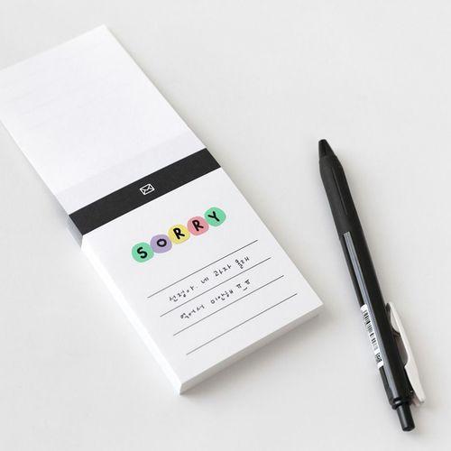 Colorful Drawing Alphabet Sticker Set