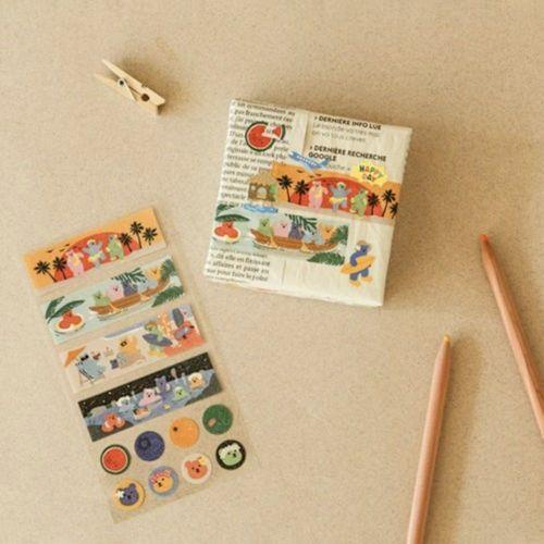 Jelly Bear Masking Seal Sticker v1