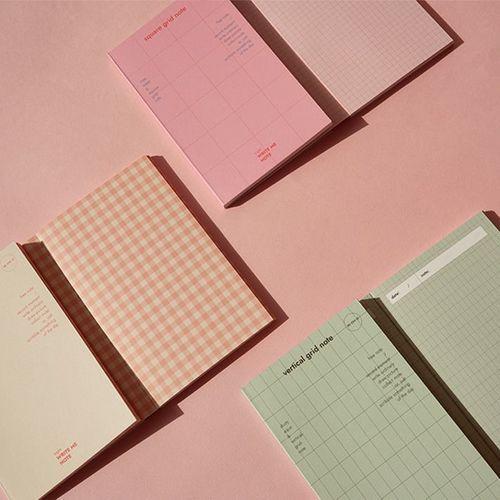 Grid Pocket Notebook