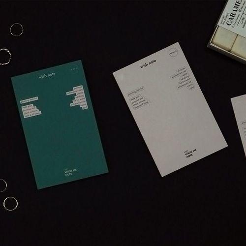 Wish Pocket Notebook