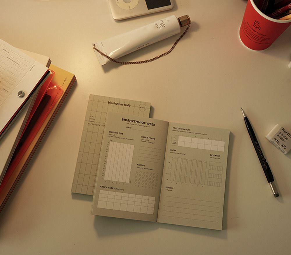 Biorhythm Pocket Notebook