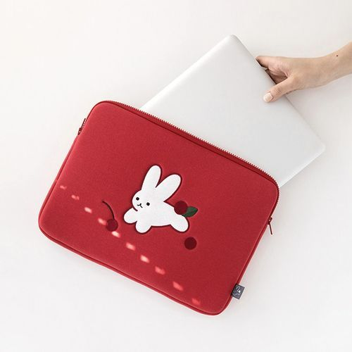 Animal Illustration 13in. Laptop Pouch