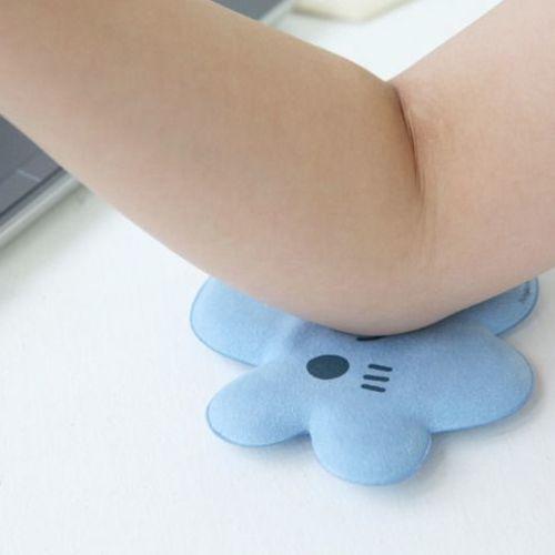 Blue Cloud Elbow Cushion