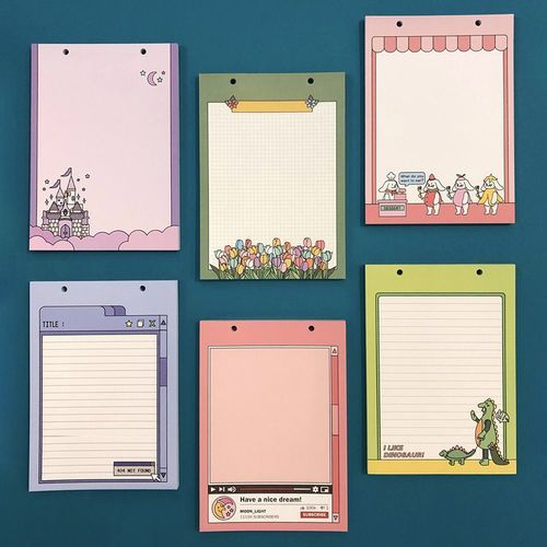 Color Point A5 Snap Memo Pad Refill