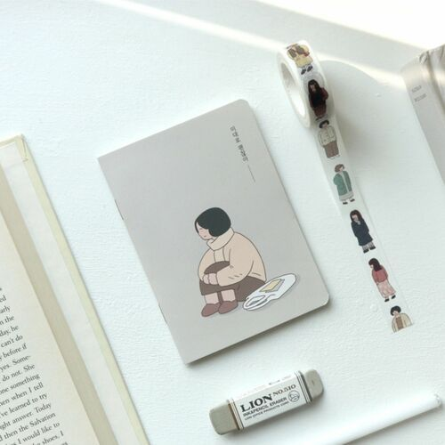 Mini Girl's Daily Life Notebook