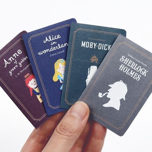 Literature Foldable Book Sticky Note