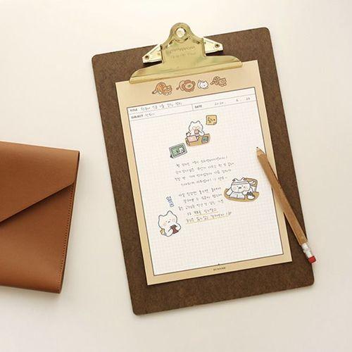 Cat B5 Pastel Notepad