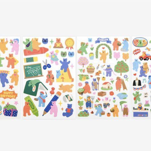 Jelly Bear Deco Sticker