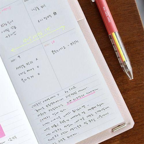 Slim Classy Wave Weekly Planner
