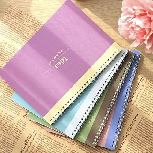 Pastel B5 Grid+Lined Notebook