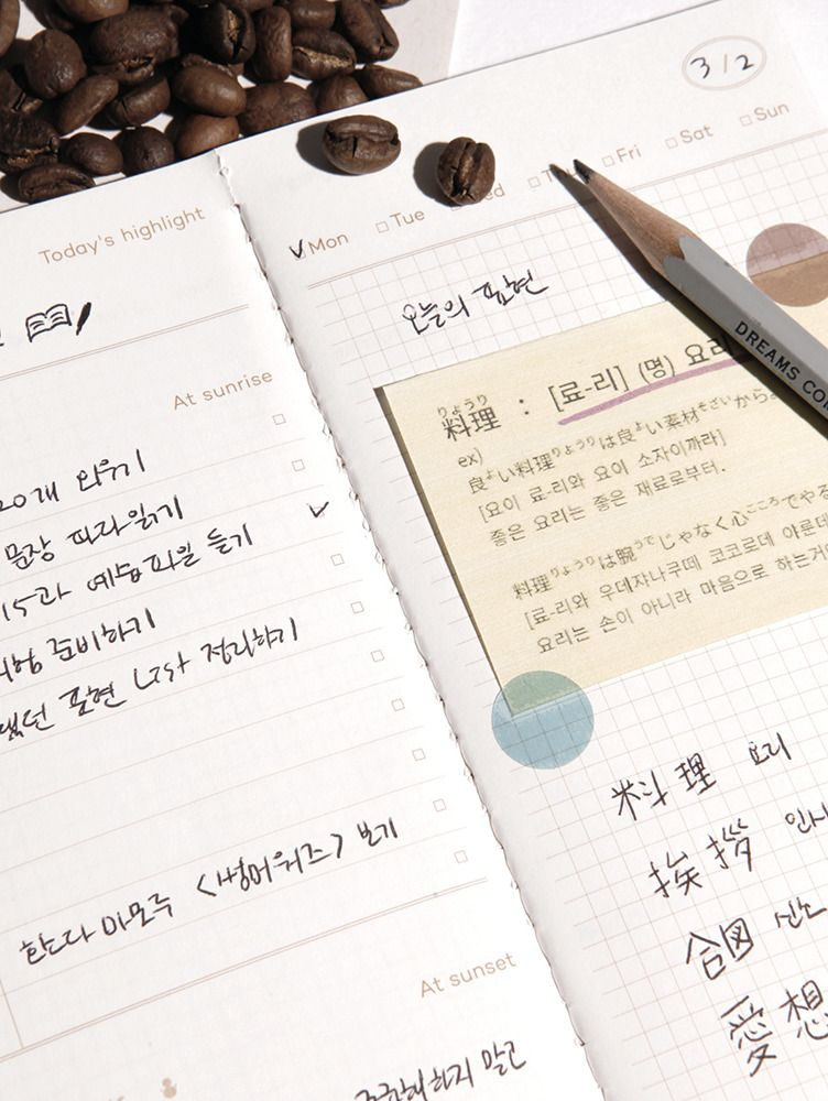 Sunset Daily Log Notebook