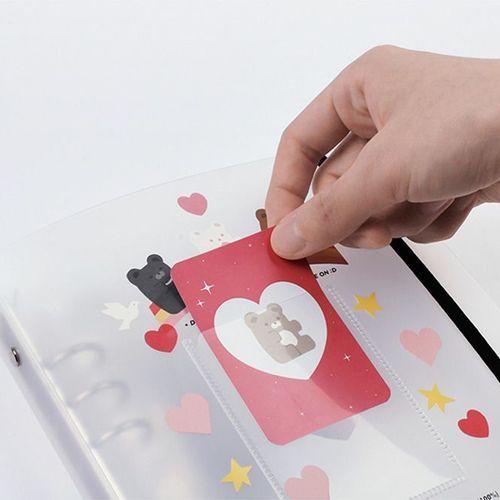 Sticker 6 Ring A5 Binder + Pocket Set