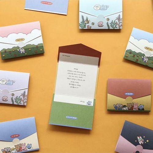 Mini My Buddy Folding Card