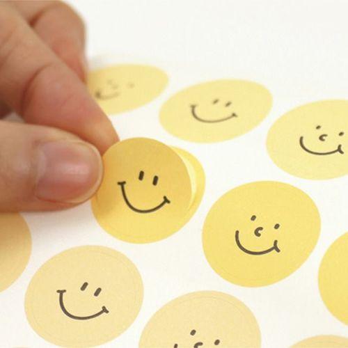 Smile Color Palette Sticker