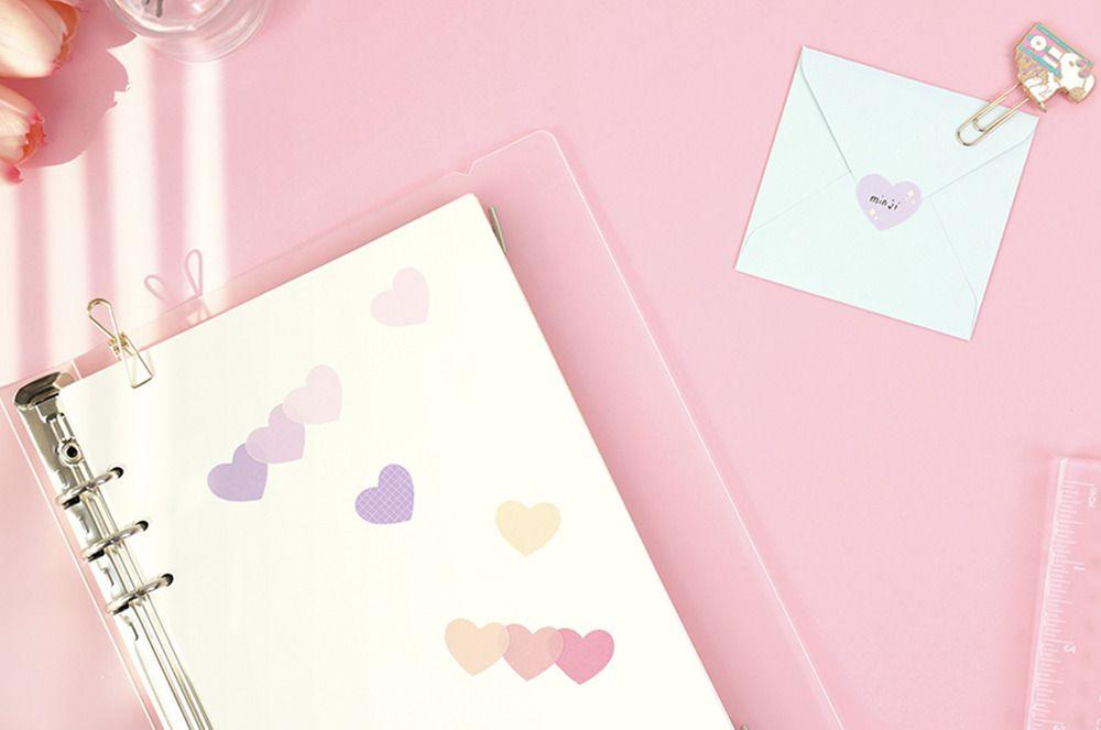 Heart Color Palette Sticker