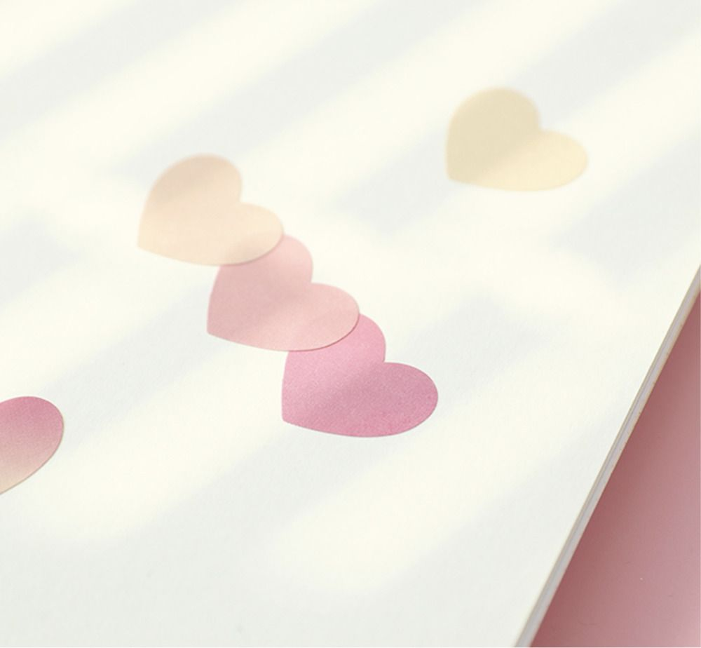 Heart Color Palette Sticker