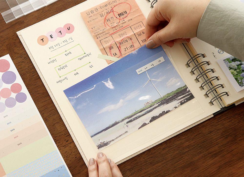 Photo Pocket Sticker Set