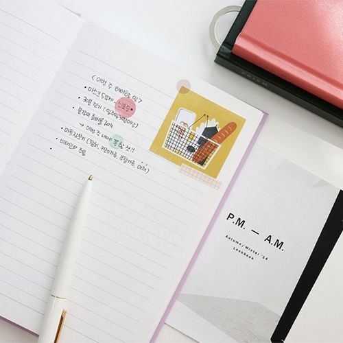 Prism Hardcover Lined Notebook