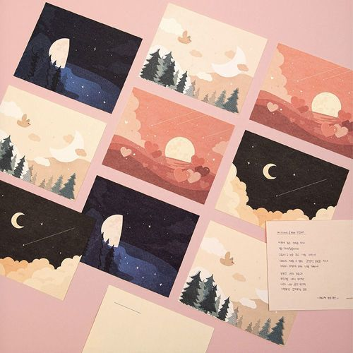 Memory of the Moon Postcard