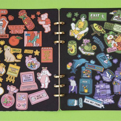 Color Point Deco Sticker v4