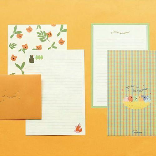 Jelly Bear Letter Set v1