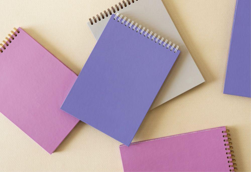 Vivid Pattern Spiral Notebook