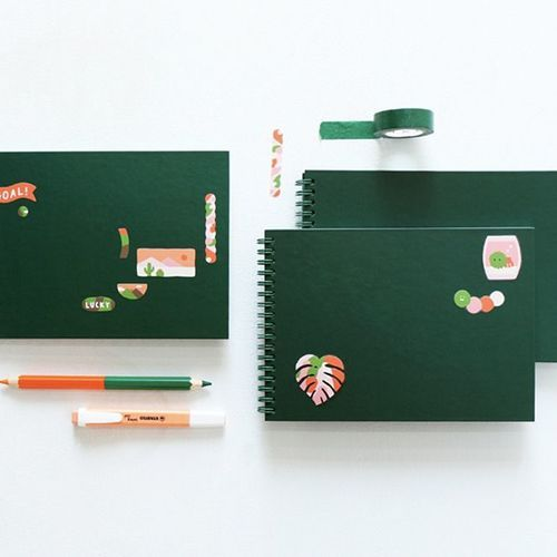 Vivid Pattern Spiral Notebook