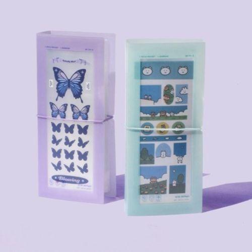 Deco Slim Sticker Pocket File Holder v2