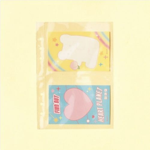 Sticker 6 Ring A5 Double Pocket Refill