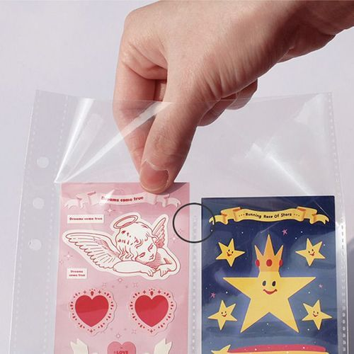 Double-sided 6 Ring A5 Pocket Refill