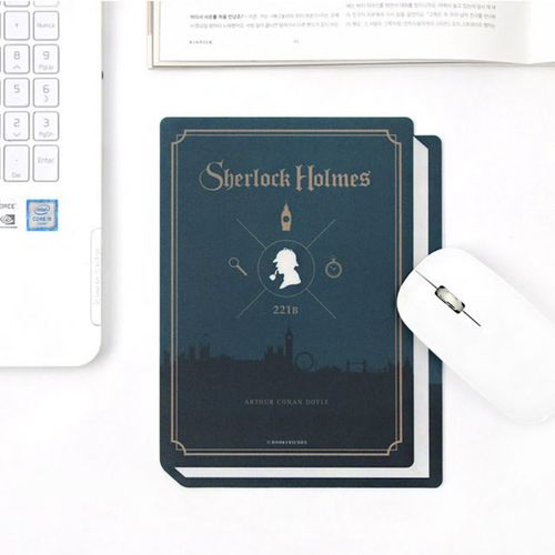 World Literature Book Cover Mouse Pad