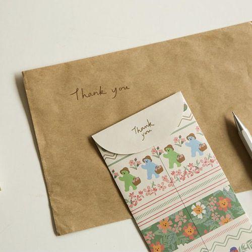 Jelly Bear Gift Envelope Set