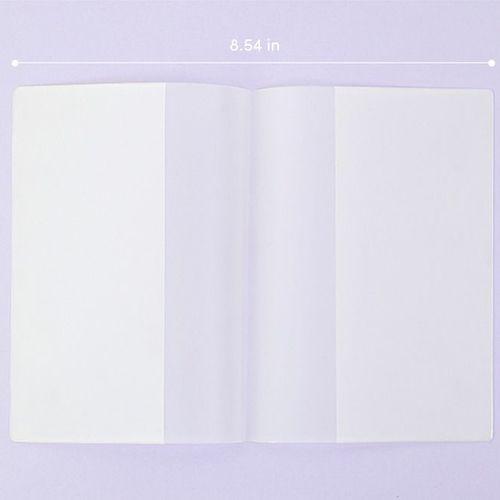 Life A6 Themed Memo Book PVC Cover